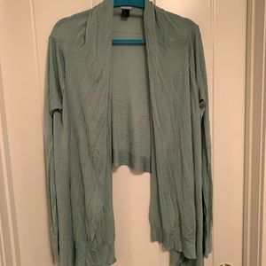 H&M Mint Sweater Wrap